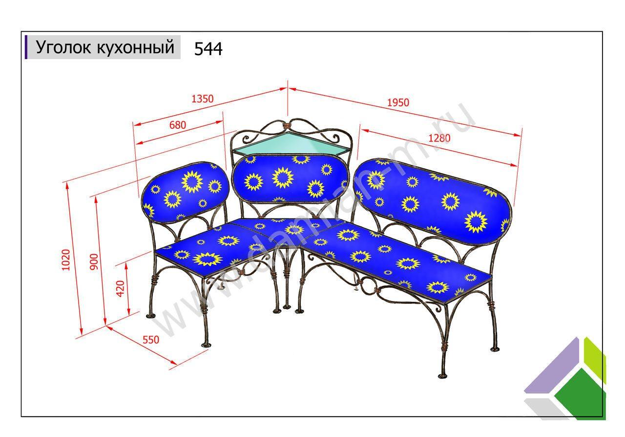 Кухонный уголок своими руками - чертежи, пошаговые 9