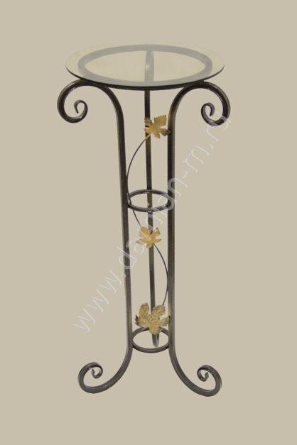 Подставка под цветы напольная металлическая купить в спб купить комнатные цветы херсон узамбарская фиалка