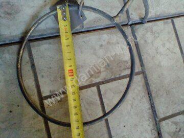 Размер кольца настенной цветочницы Ц-22